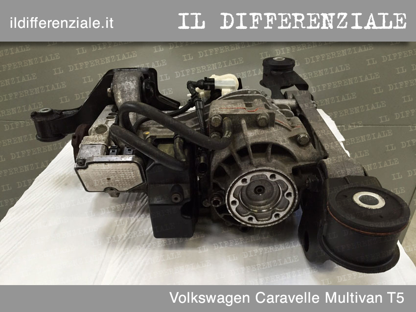 Differenziale Volkswagen Caravelle Multivan T5 2
