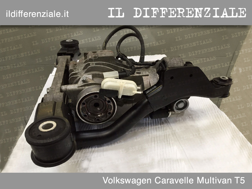 Differenziale Volkswagen Caravelle Multivan T5 4