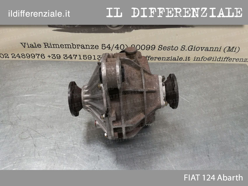 Differenziale Fiat 124 Abarth 1