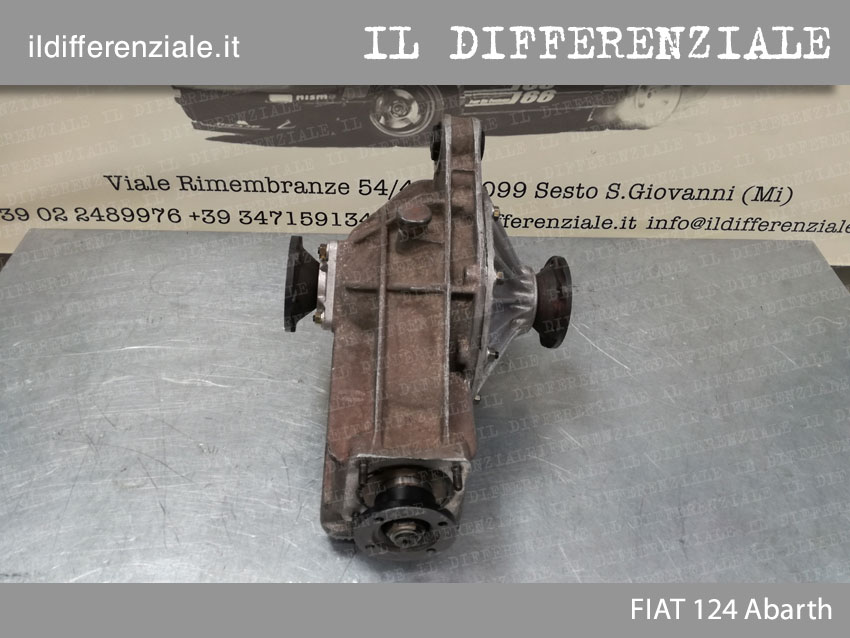 Differenziale Fiat 124 Abarth 2