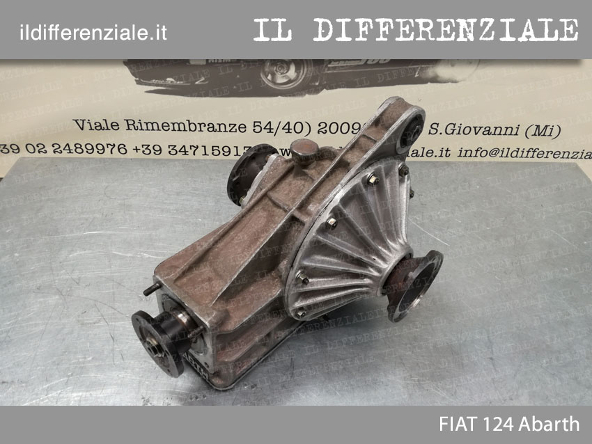 Differenziale Fiat 124 Abarth 3