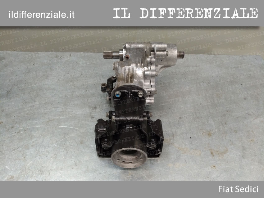 Differenziale Fiat Sedici 2
