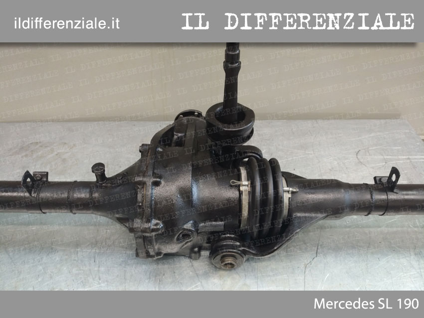 Differenziale Mercedes SL 190 posteriore 1