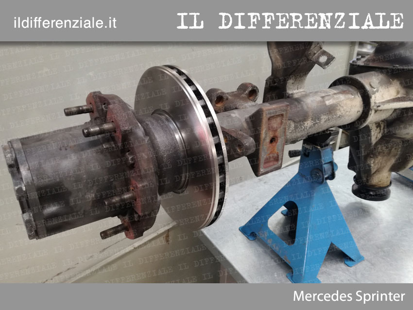 Differenziale Mercedes Sprinter 3
