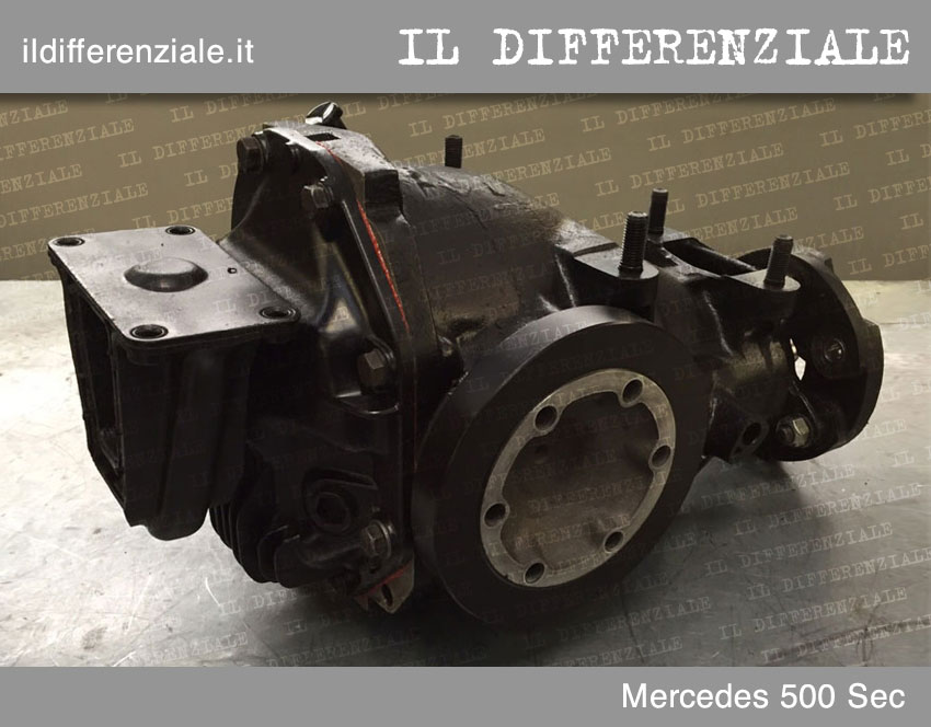 differenziale mercedes sec 500