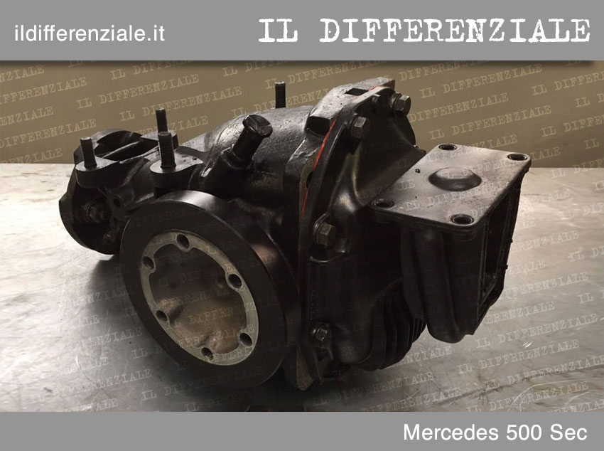 differenziale mercedes sec 500 1