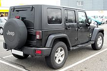 Jeep Wrangler Unlimited rear
