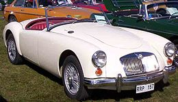 MG MGA 1600 Roadster 1961 2