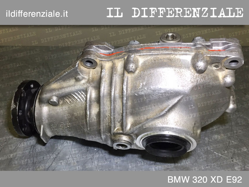 differenziale anteriore BMW 320 XD E92 1