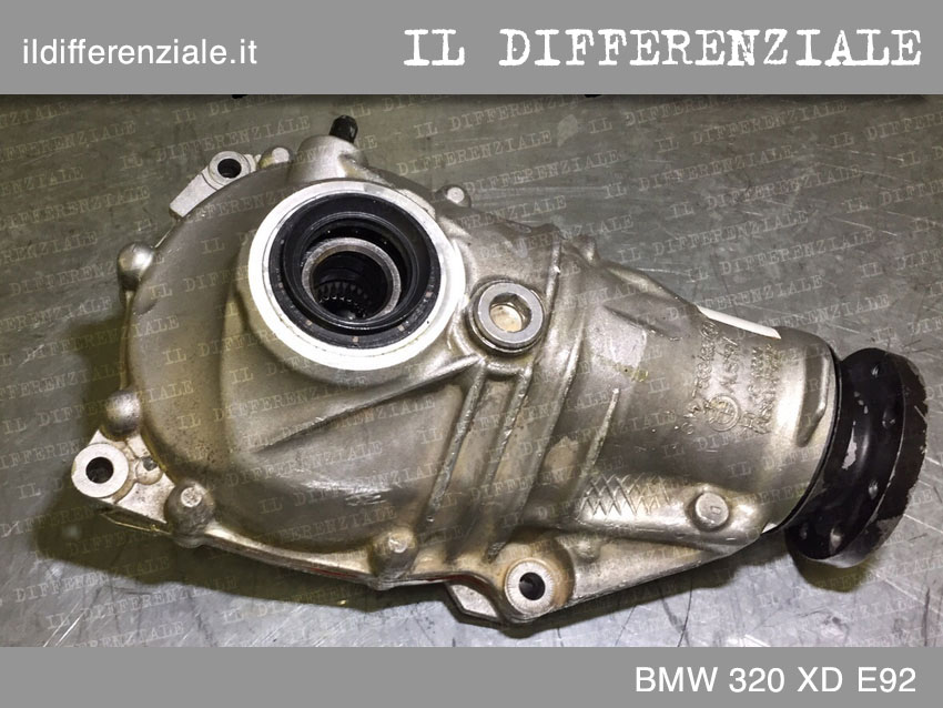 differenziale anteriore BMW 320 XD E92 2