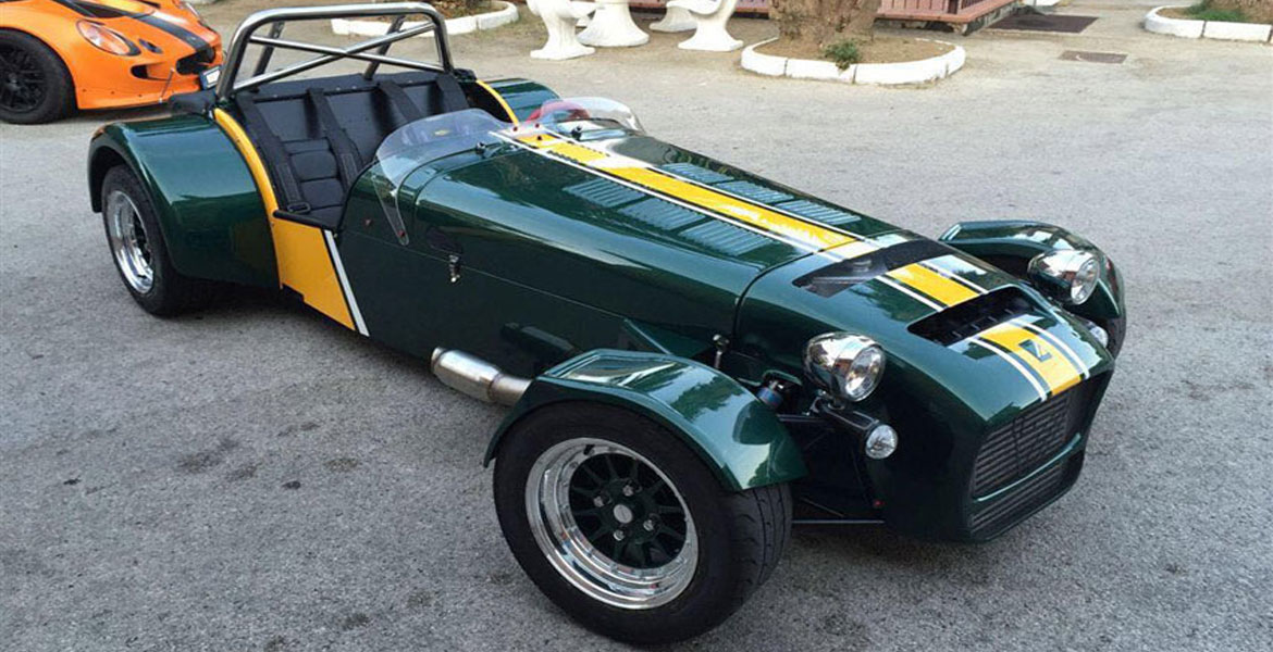 Differenziale Caterham - Ford 7