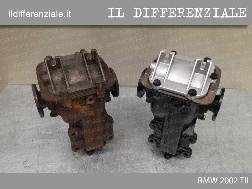 differenziale bmw 2002 tii prima e dopo revisione 1