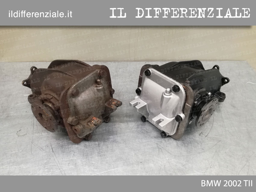 differenziale bmw 2002 tii prima e dopo revisione 4